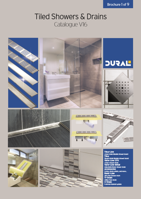 01 Tiled showers and Drains Brochure
