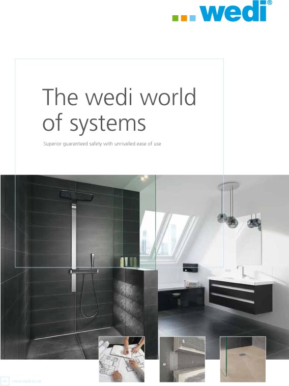 wedi World of Systems Brochure