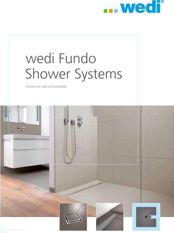 wedi Fundo Shower Systems Brochure