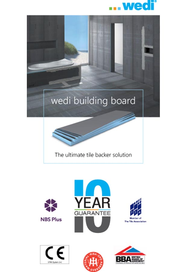 The ultimate tile backer solution  Brochure