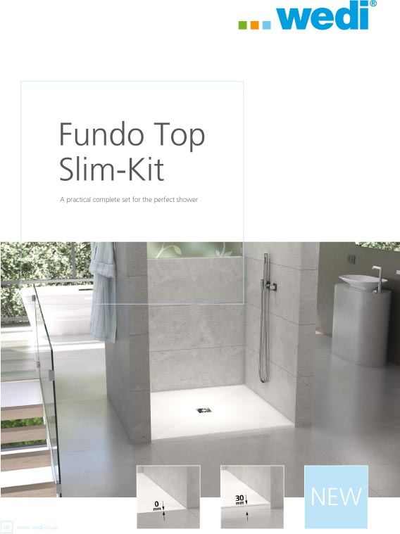 wedi Fundo Top Slim-Kit Brochure