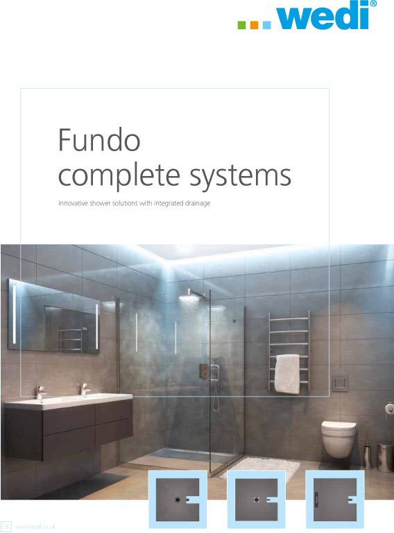 wedi Fundo Intergrated Systems Brochure