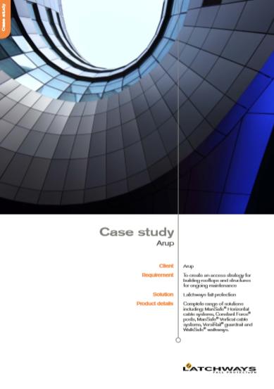 MSA Arup Case Study Brochure