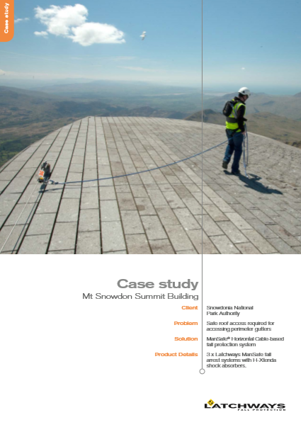MSA Snowdon Summit Building Case Study Brochure