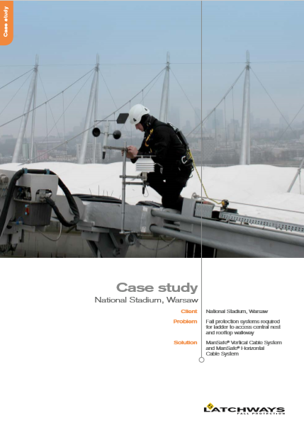 MSA National Stadium, Warsaw Case Study Brochure