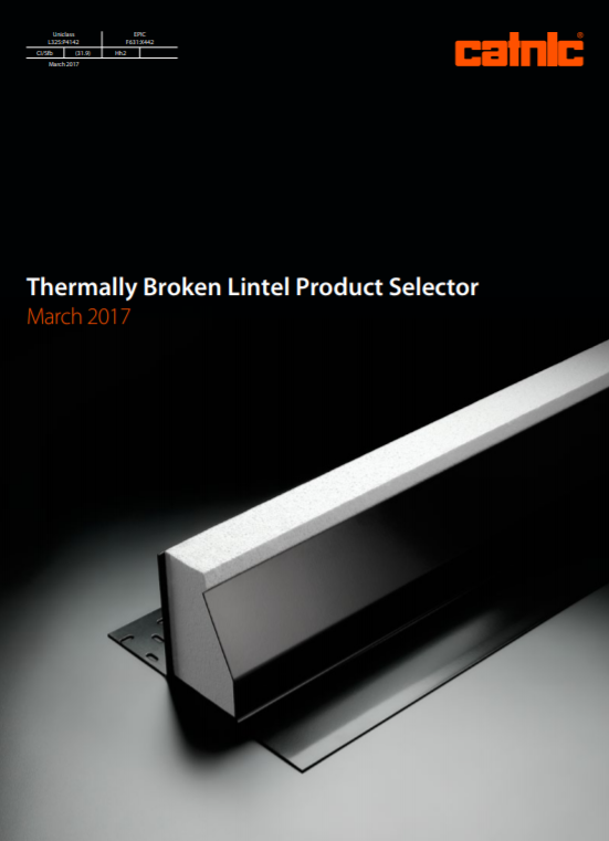 Thermally Broken Lintel Product Selector Brochure