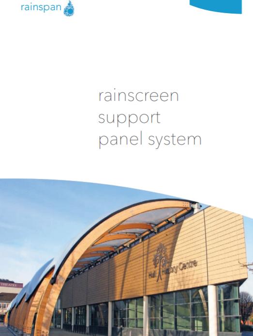 Rainscreen Support Panel System Brochure