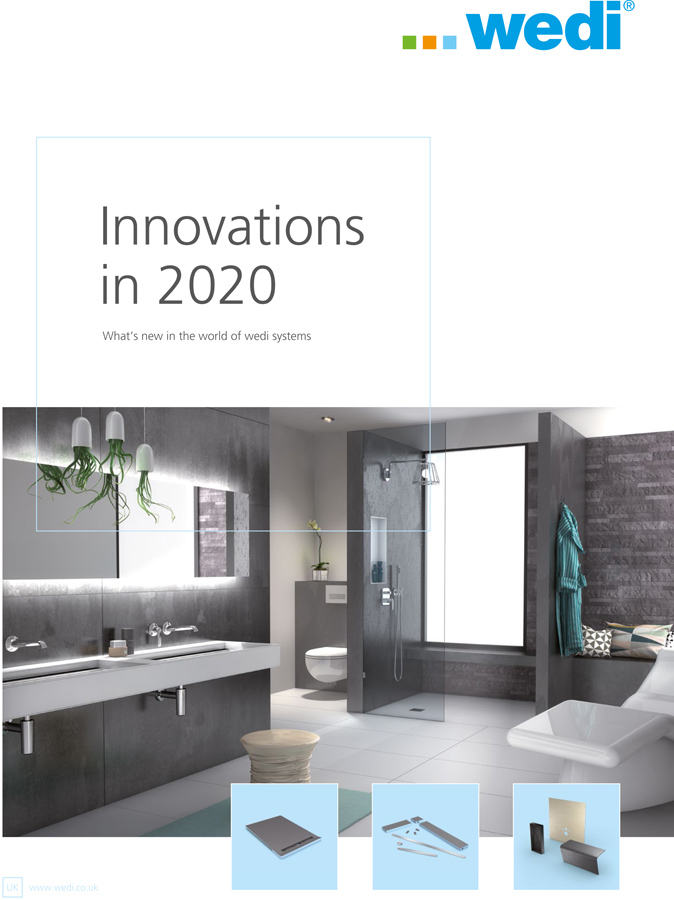 wedi innovations 2020 Brochure