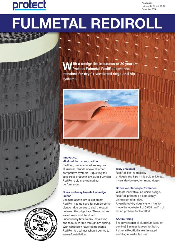 FULMETAL REDIROLL - Protect Membranes Brochure