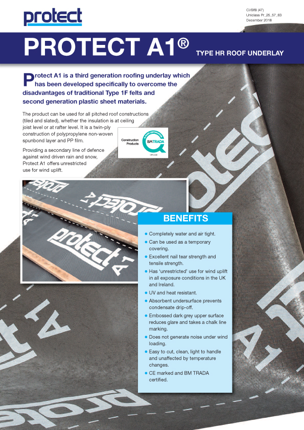 PROTECT A1 - Protect Membranes Brochure