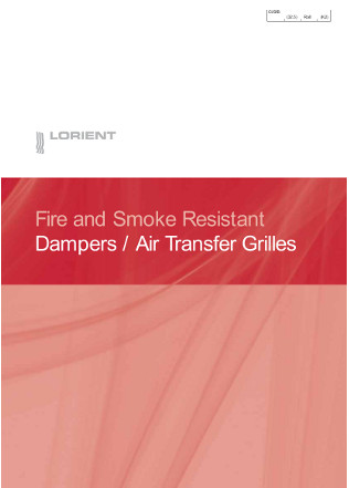 Dampers / Air Transfer Grilles Brochure