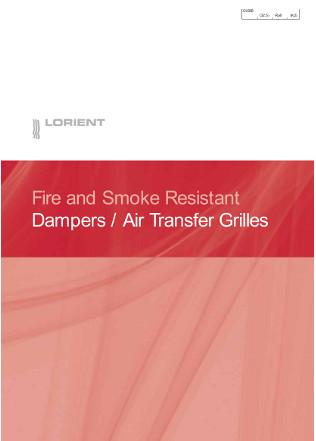 Dampers / Air Transfer Grilles Brochure
