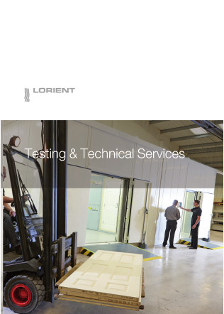 Testing and Technical Services Brochure Brochure