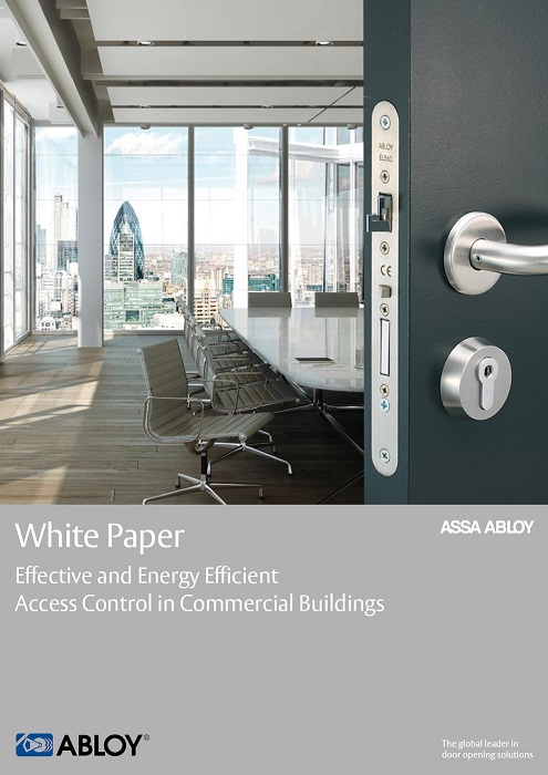 Abloy UK White Paper Energy Efficiency Brochure