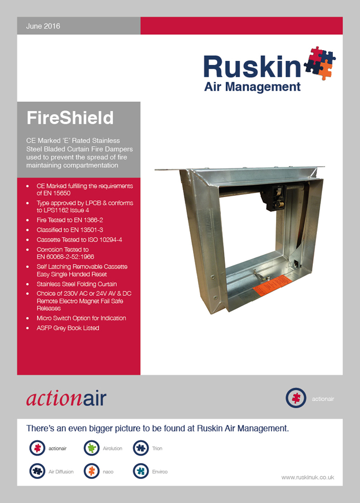 FireShield Brochure Brochure