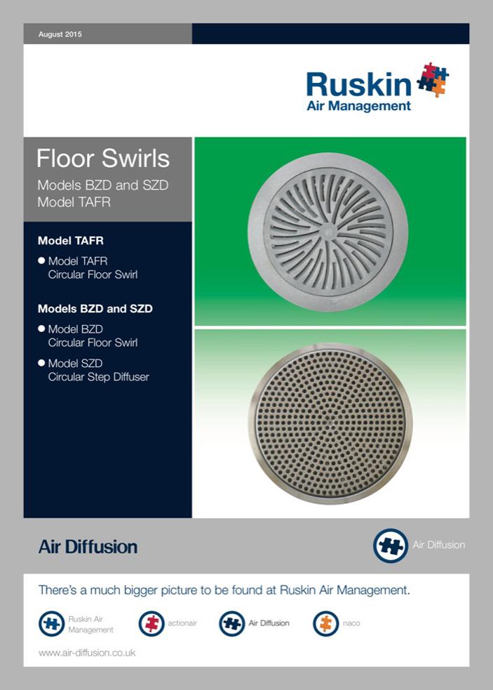 Air Diffusion Circular Floor Swirl Brochure