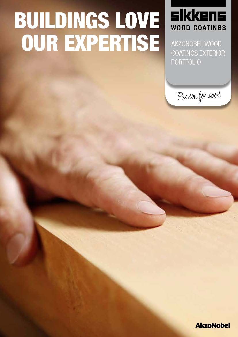 AkzoNobel Wood Coatings Exterior Portfolio Brochure