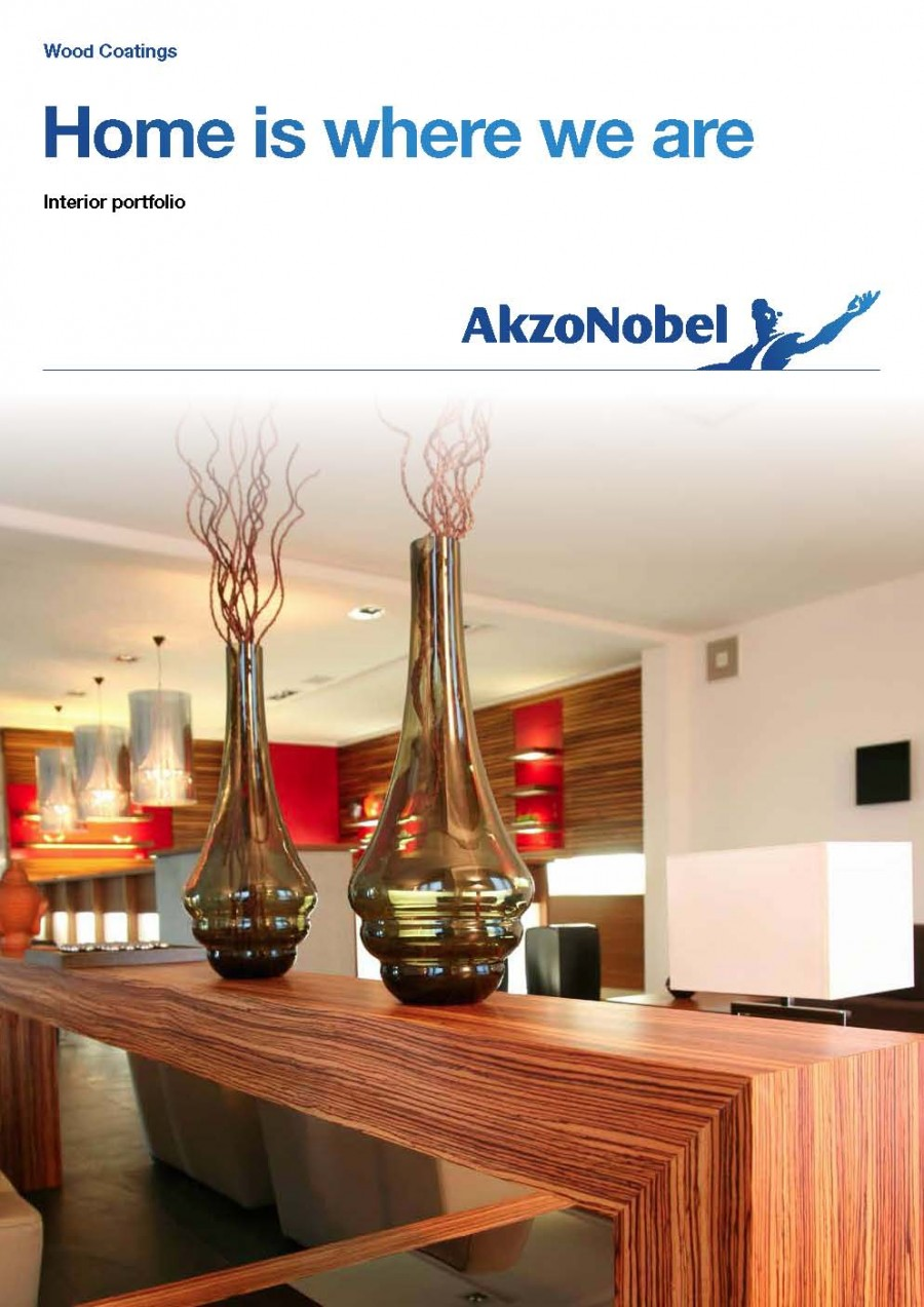 AkzoNobel Wood Coatings Interior Portfolio Brochure