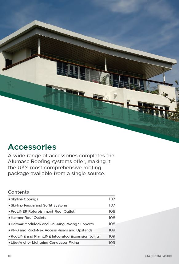 Alumasc Roof Accessories Brochure 2015 Brochure