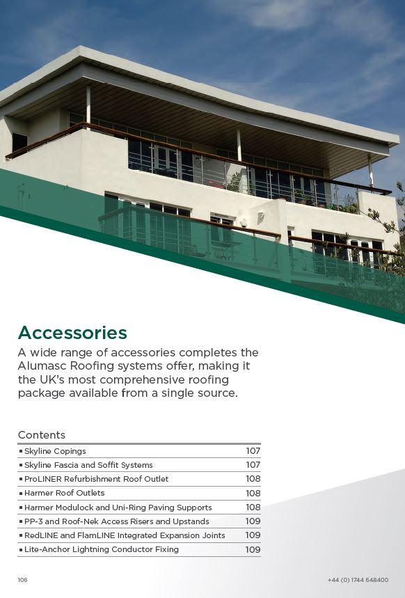 Alumasc Roof Accessories Brochure 2015 Brochure