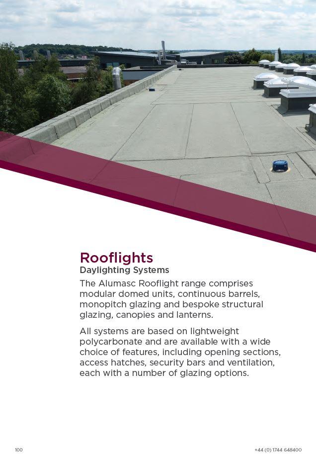 Alumasc Rooflights Brochure 2015 Brochure
