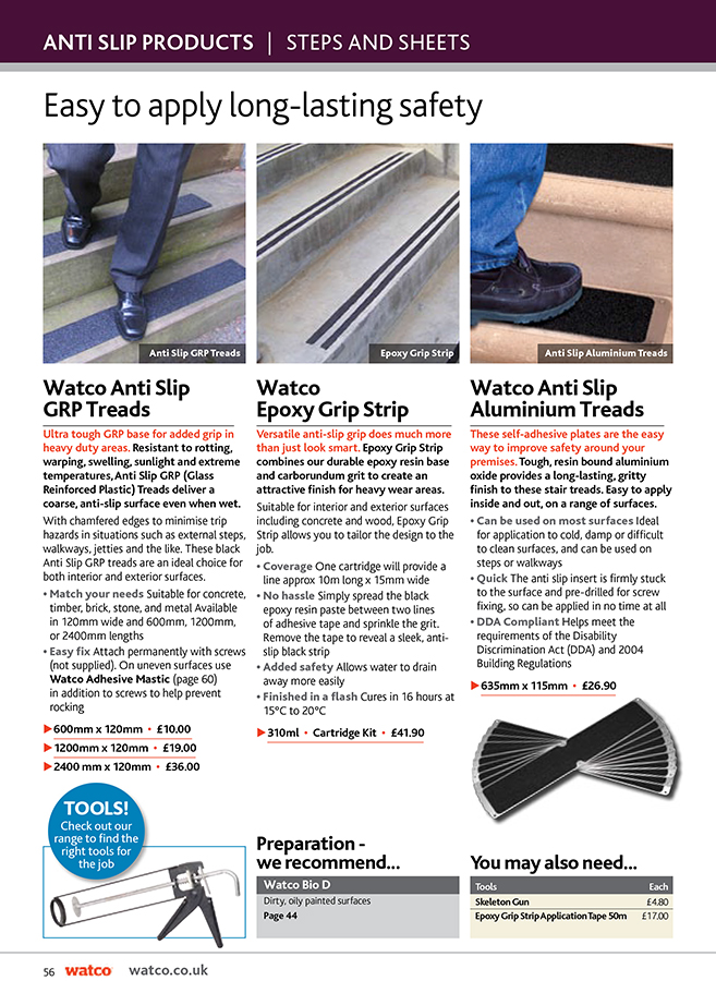 Anti Slip Catalogue Brochure