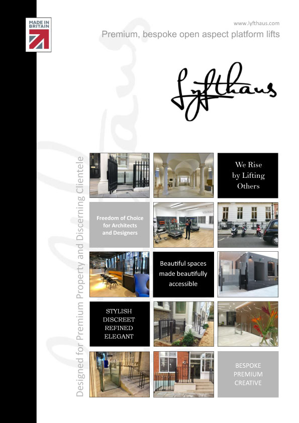 Lyfthaus - Architects Edition Brochure