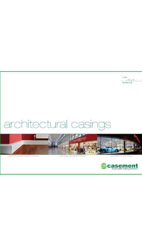 Architectural casings Brochure