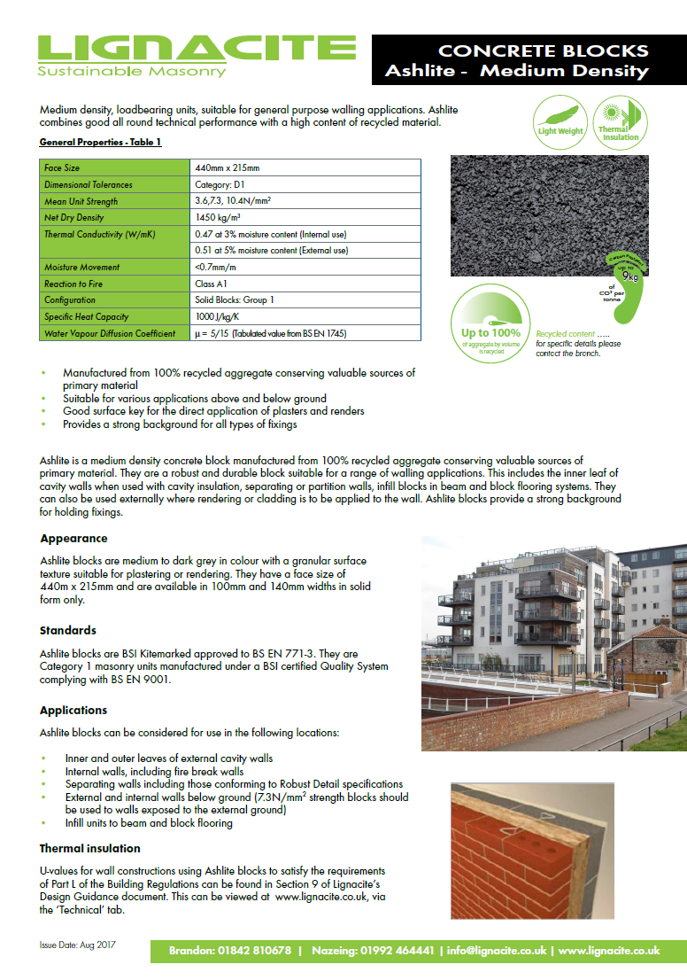 Ashlite Brochure