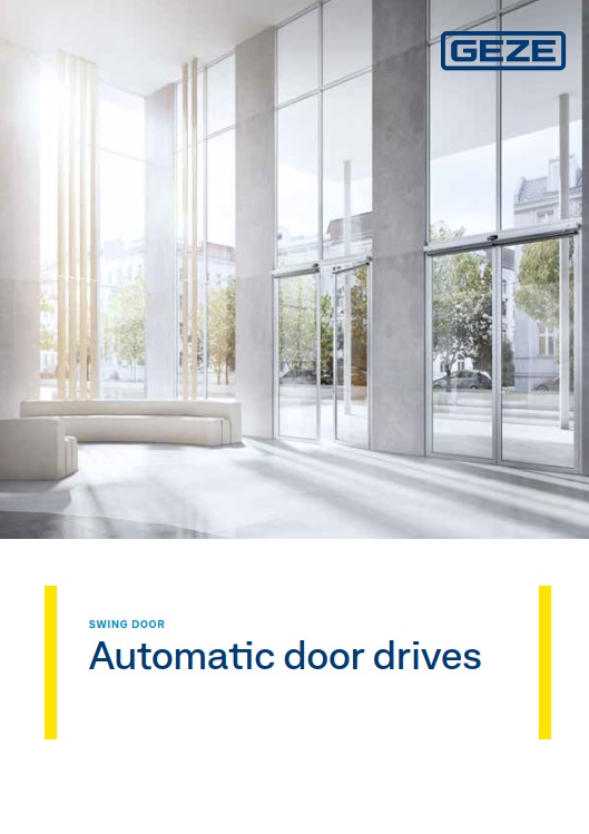 Automatic Swing Door  Brochure
