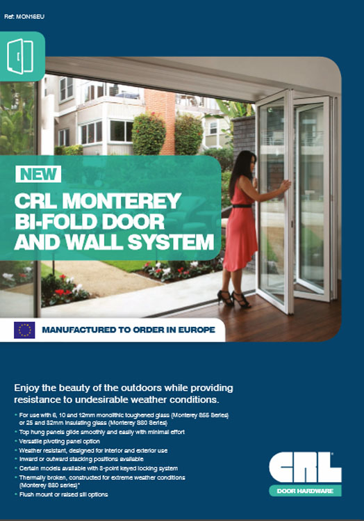 Monterey Door Flyer Brochure