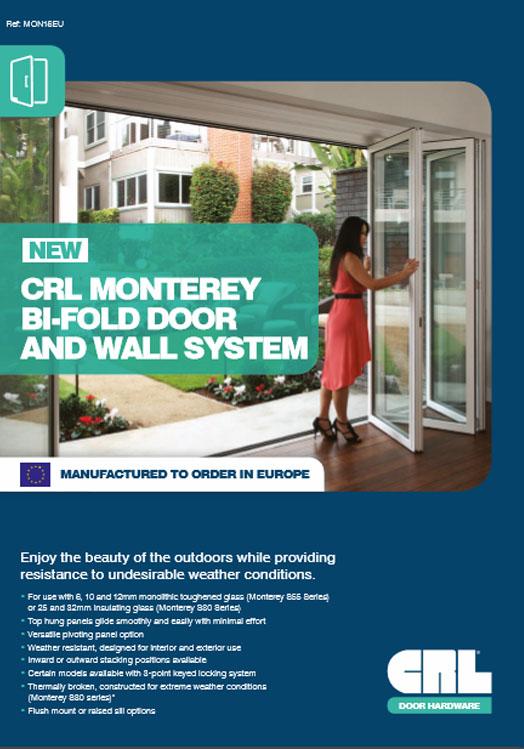 Monterey Door Flyer Brochure
