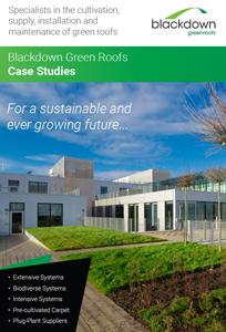 Blackdown Greenroofs Case Study  Brochure