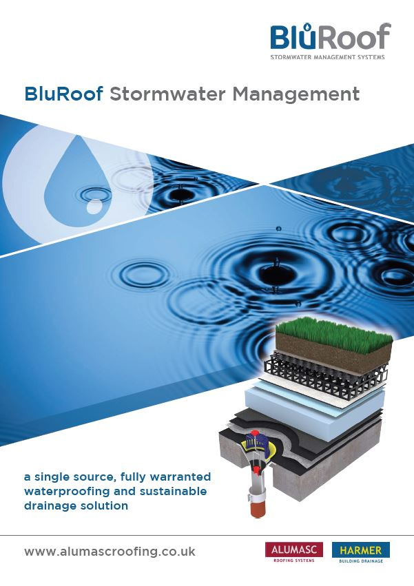 Blu-Roof Stormwater Management Brochure 2015 Brochure