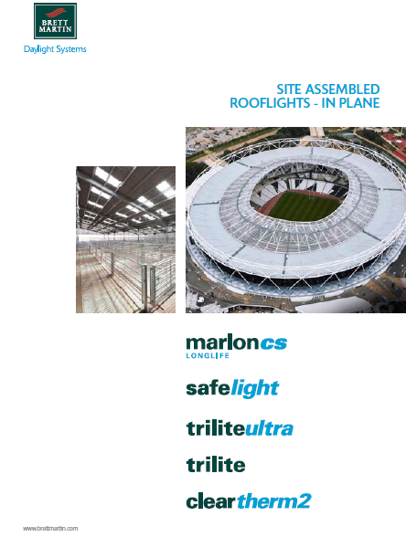 Site assembled Rooflights- In Plane Brochure