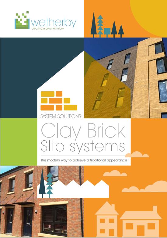 Clay brick slip system Brochure