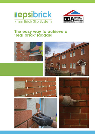 The easy way to achieve a 'real brick' facade Brochure