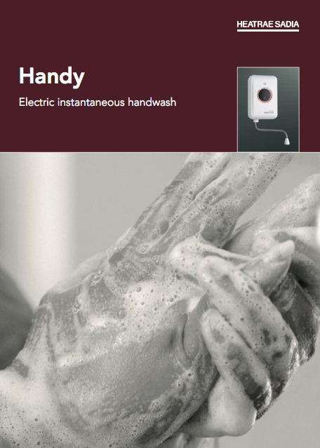 Handy Electric instantaneous handwash Brochure