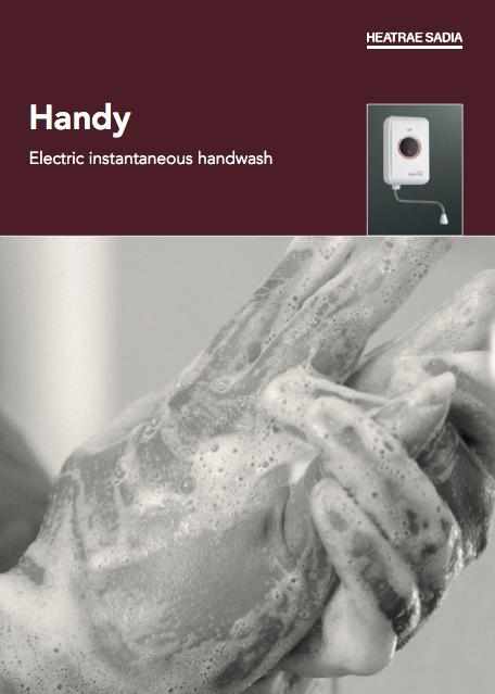 Handy Electric instantaneous handwash Brochure