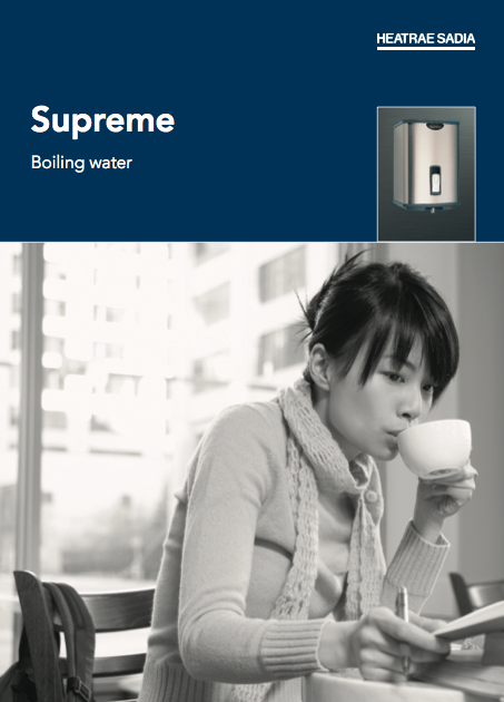 Supreme Boiling water Brochure