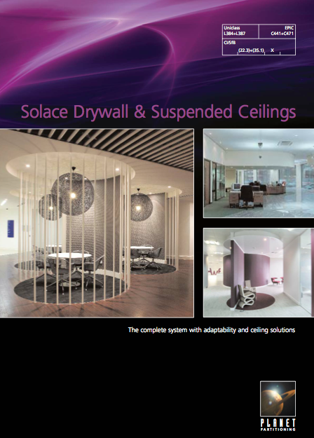 Solace Drywall & Suspended Ceilings Brochure