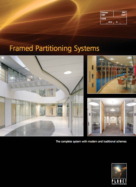 Framed Partitioning Systems Brochure