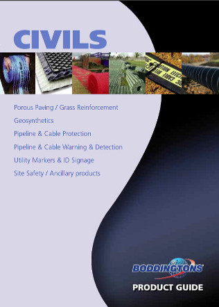 Civils Product Guide Brochure