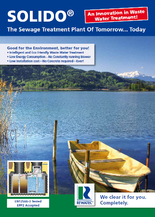SOLIDO® The Sewage Treatment Plant Brochure