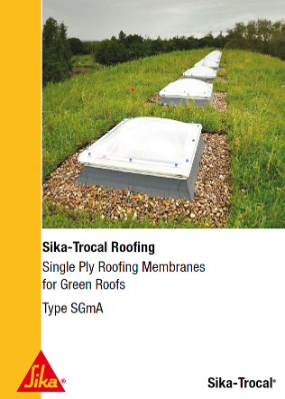 Single Ply Roofing Membranes for Green Roofs Brochure