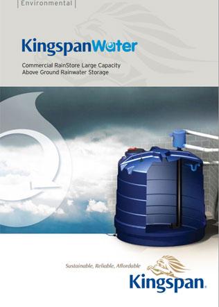 Commercial RainStore Large Capacity Above Ground Rainwater Storage Brochure