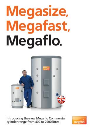 Megaflo Commercial Cylinder Brochure