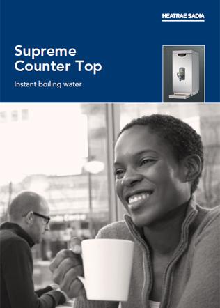 Supreme Counter Top Brochure