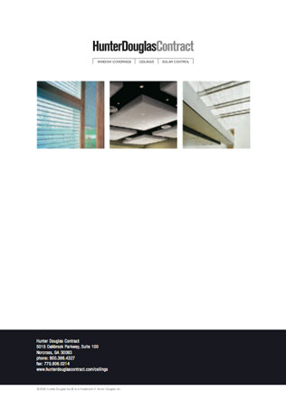 Hunter Douglas Contract Brochure