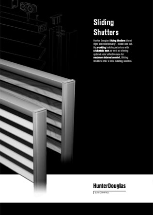 Sliding Shutters Brochure